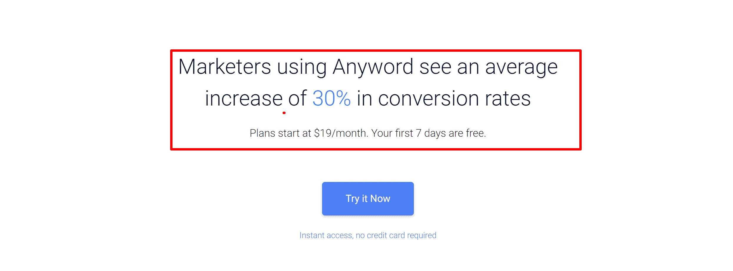 Anyword marketing stats- Anyword reviews