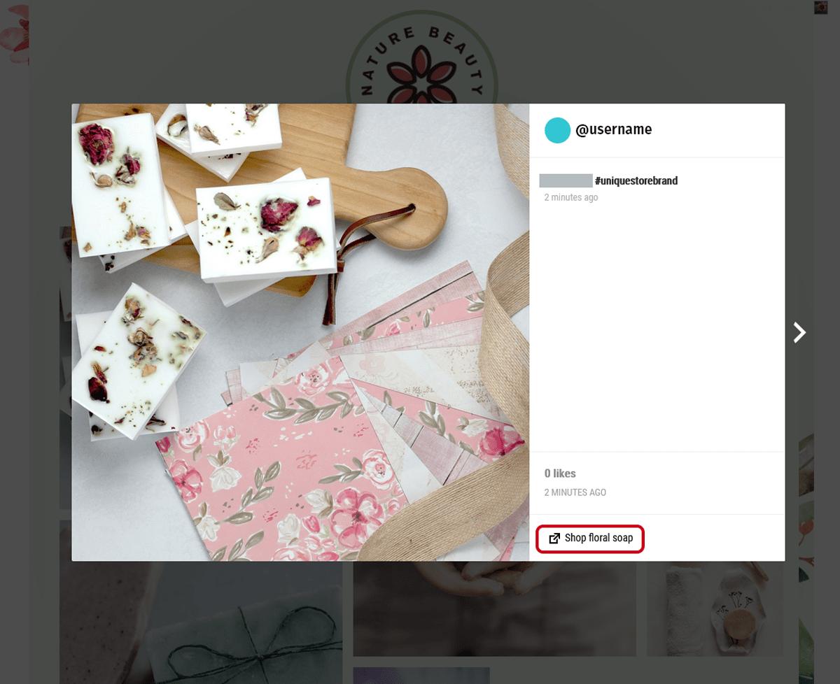 Custom Url -Spotlight Instagram Feeds