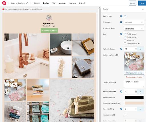 Designing feed- Spotlight instagram feeds review