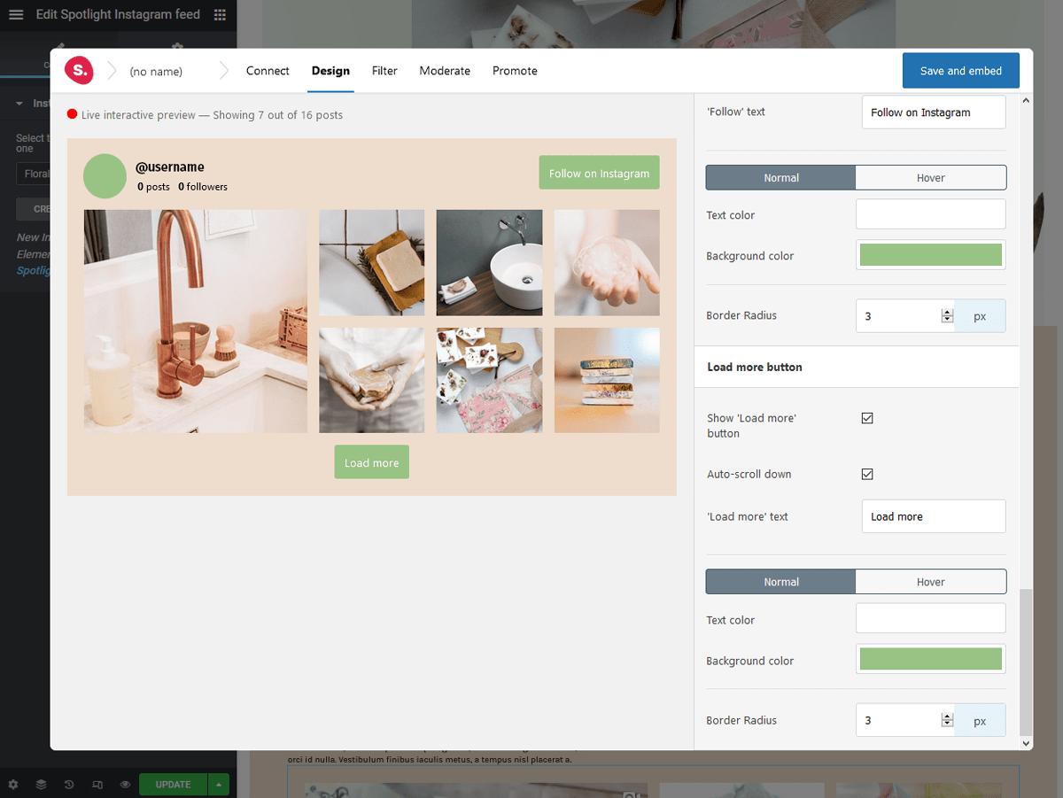 Elemenator editor- Spotlight instagram feeds review
