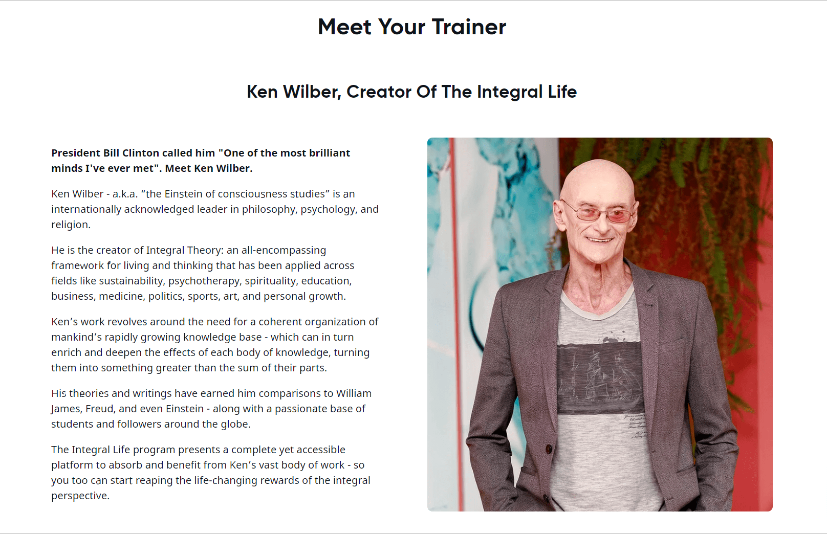 Creator of Integral Life By Ken Wilber- Review Of Integral Life By Ken Wilber On Mindvalley