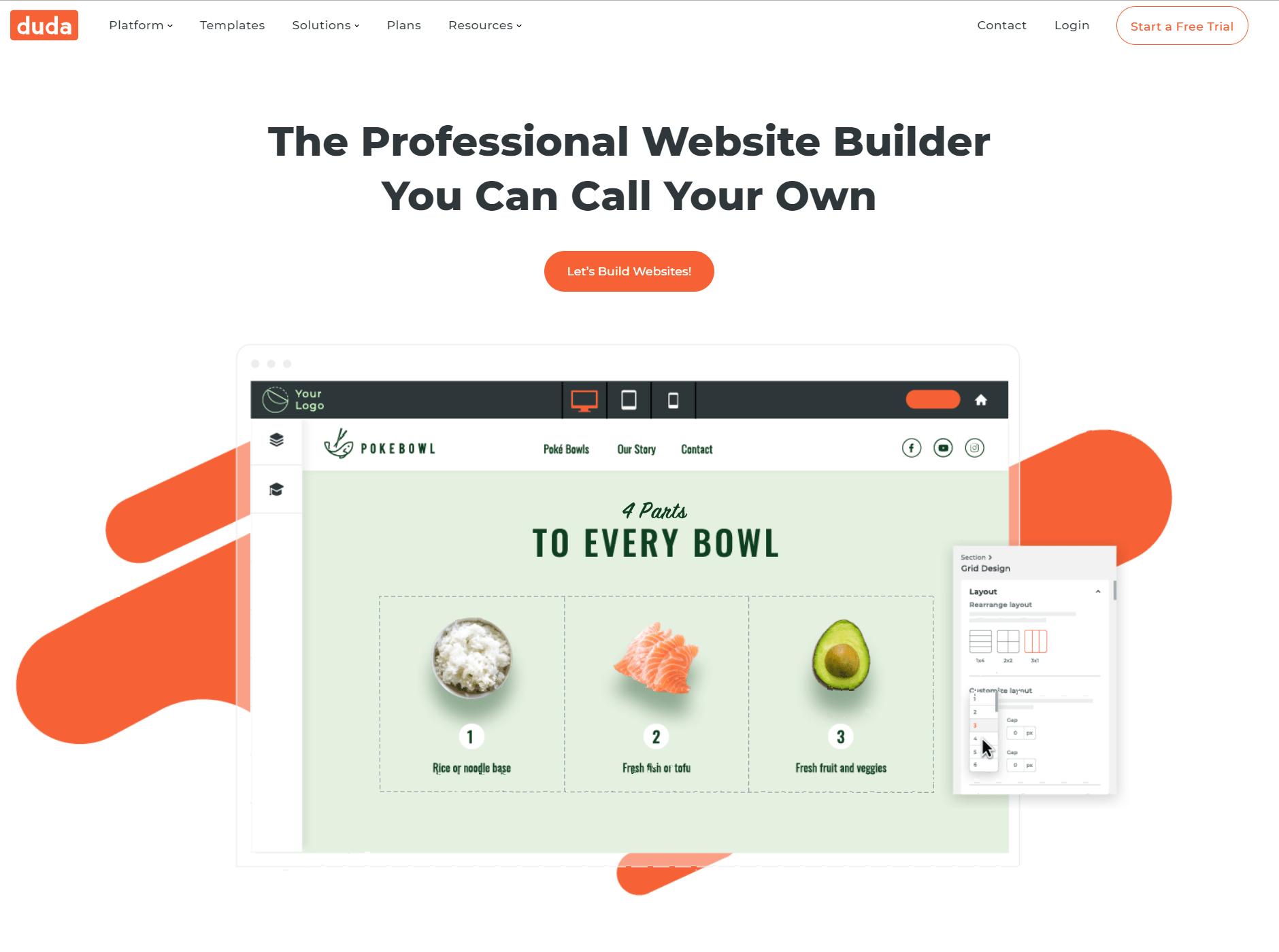 Duda Website Builder Overview- Simvoly vs Duda