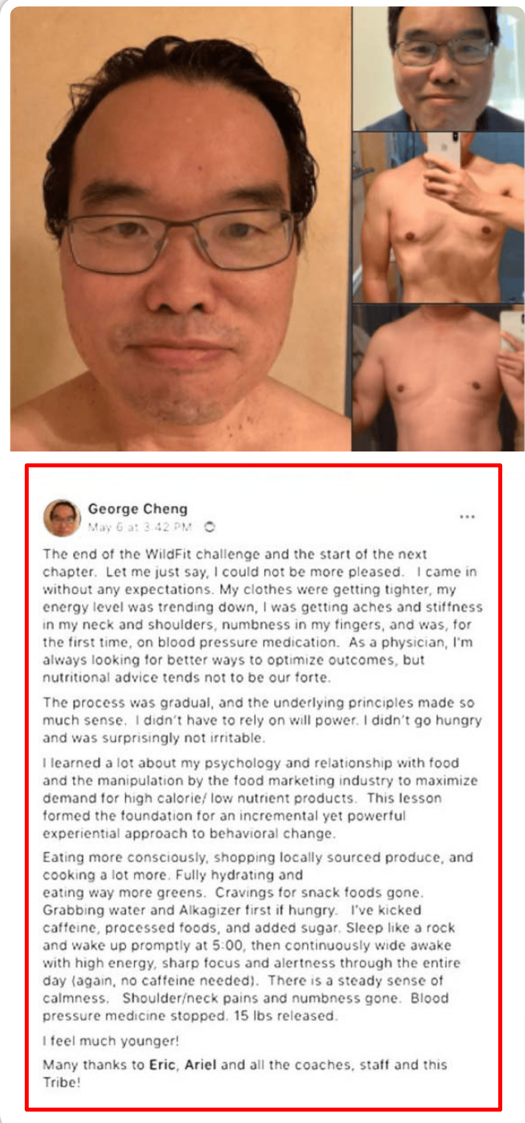 Wildfit by eric edmeades review-WildFit program testimonials by customers