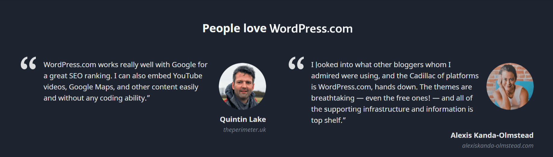 WordPress Customer Review- WordPress vs Simvoly