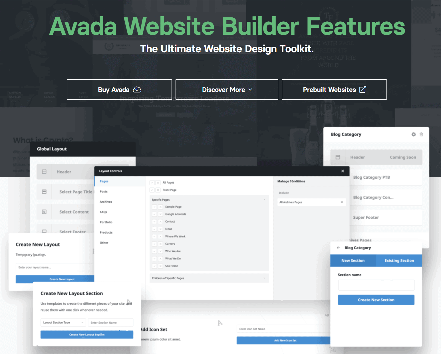 Avada Features