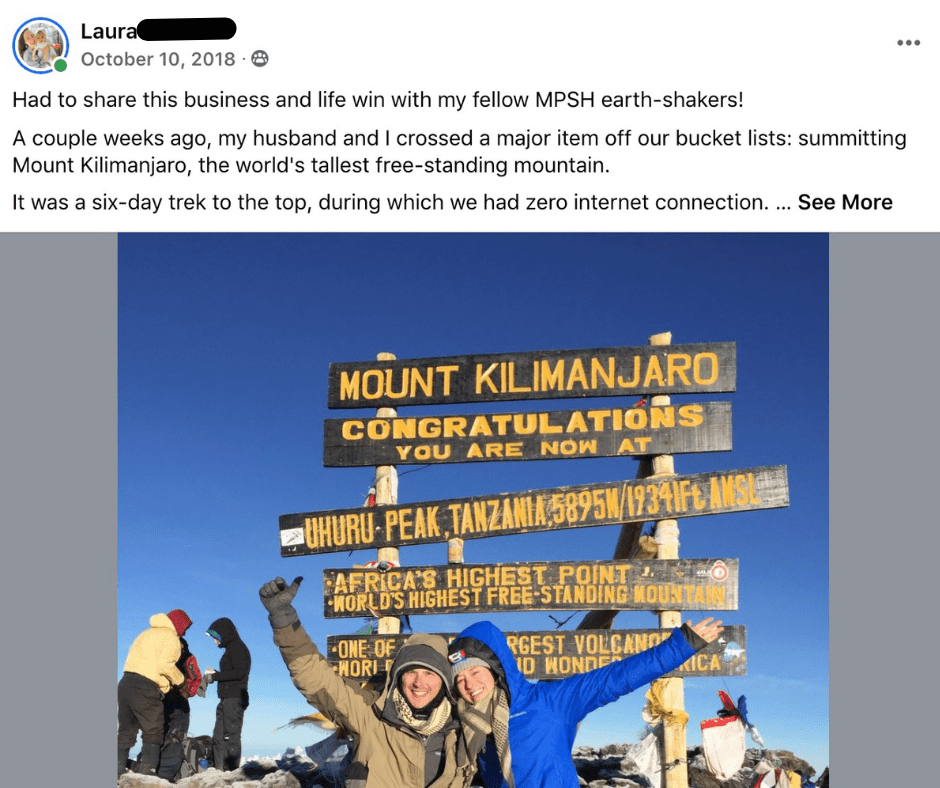 MT. Kilmanjaru - Ignite Programme