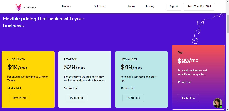 Makezu-Pricing