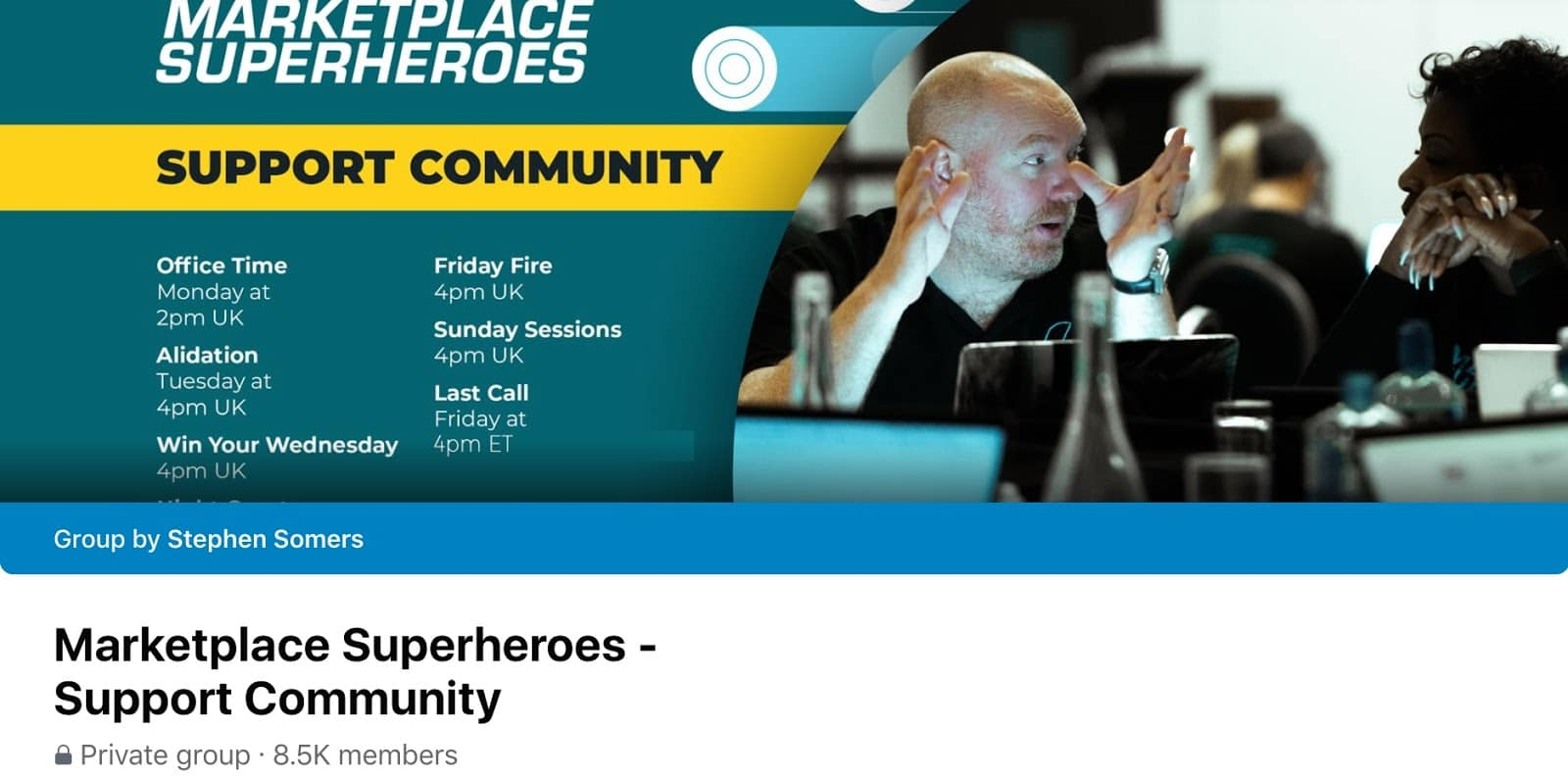 Marketplace Super Hero- support Community