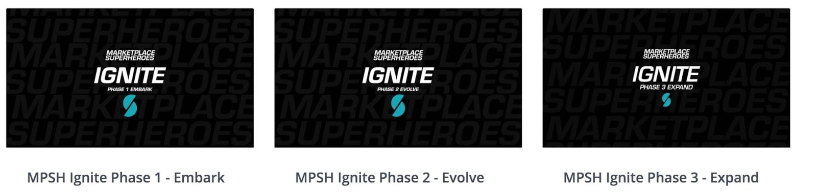 Marketplace SuperHeroes Ignite Program Course Breakdown