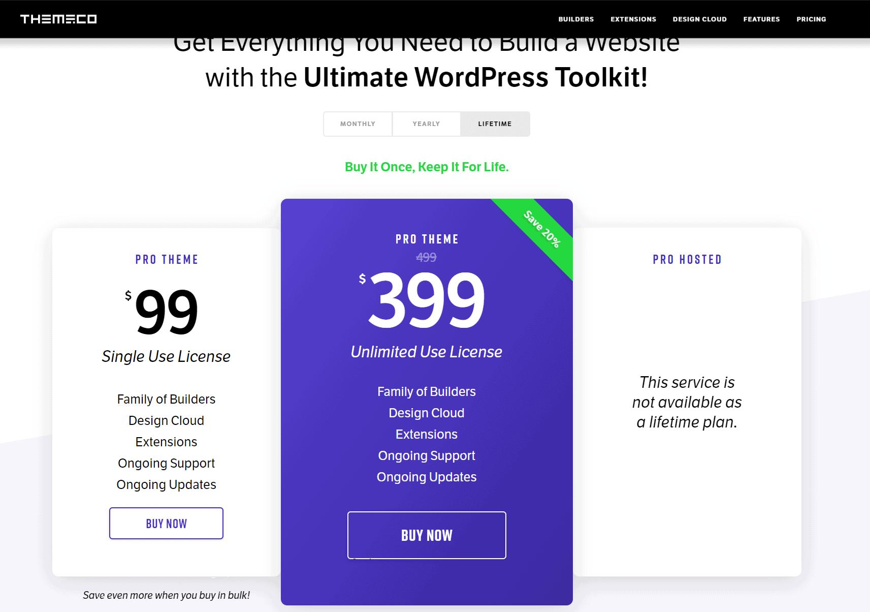 Pricing Pro
