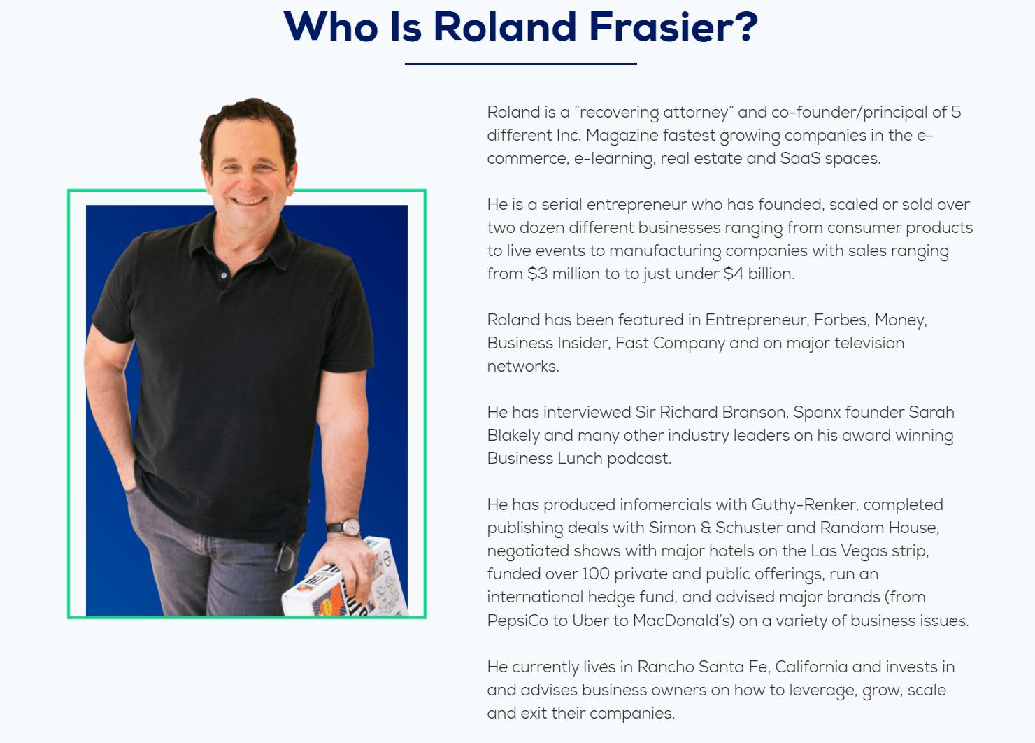 Roland Fraiser - Epic Challenge
