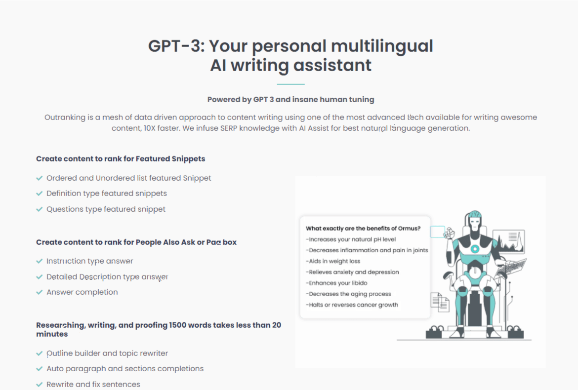 AI Writing Assistant
