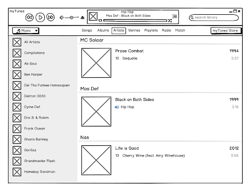 Balsamiq Wireframe Tools