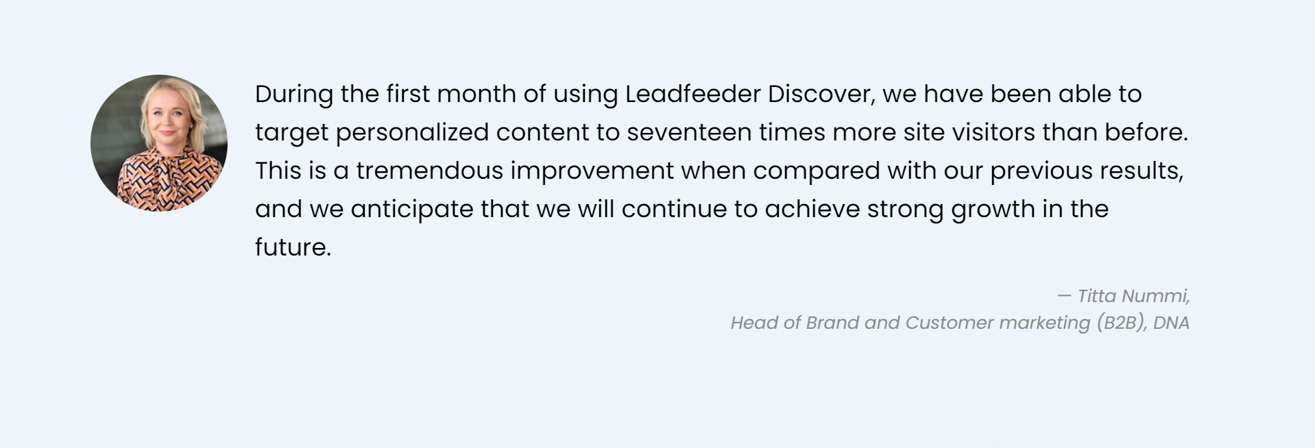 Leadfeeder discover