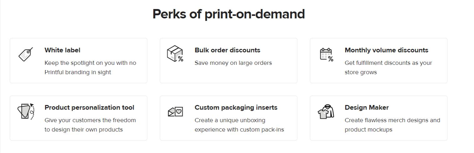 Perks of printful