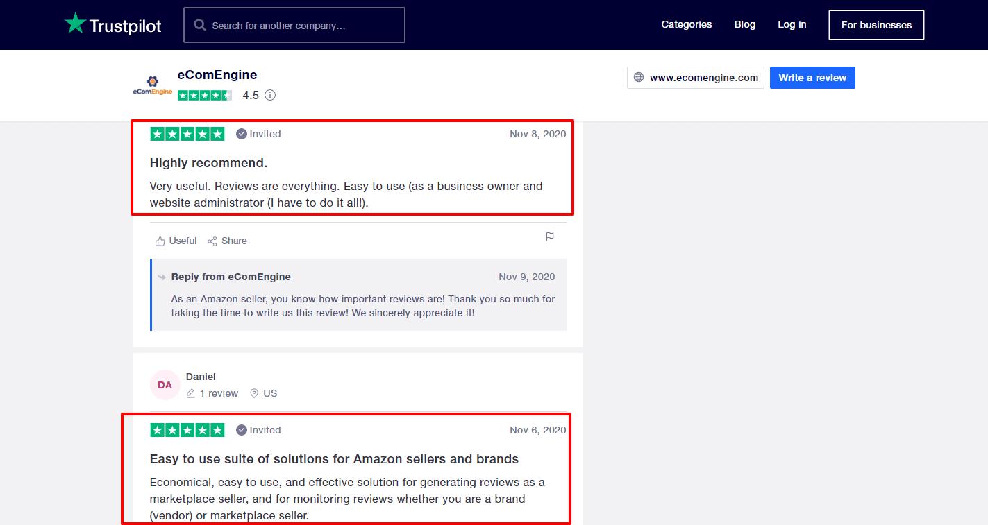 eComEngine-Reviews-Trustpilot