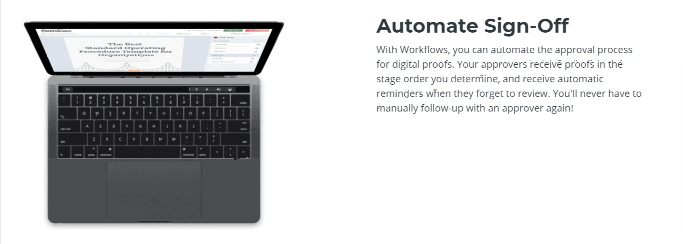 Automate Sign off-Ashore App