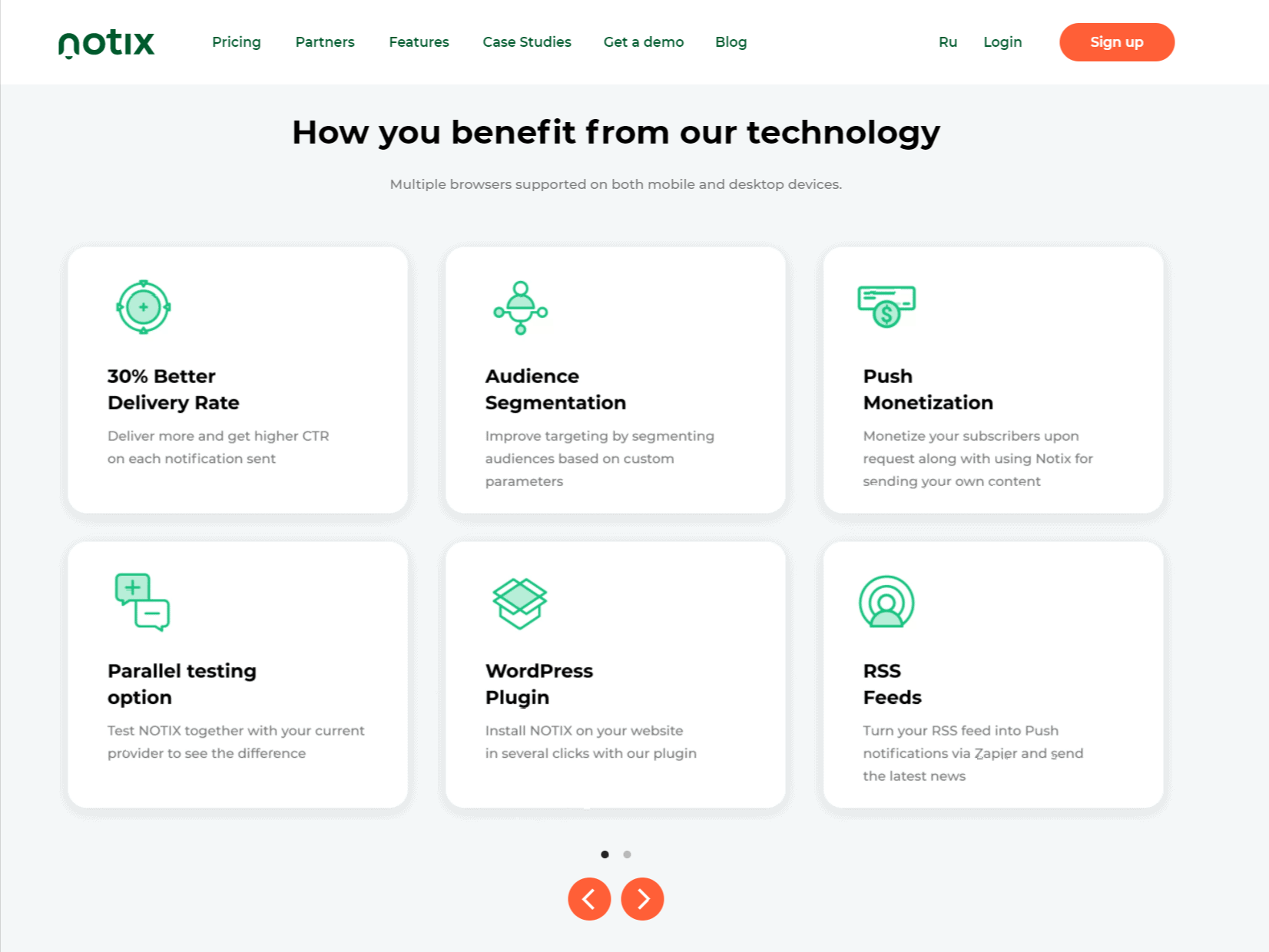 Features- Nitox