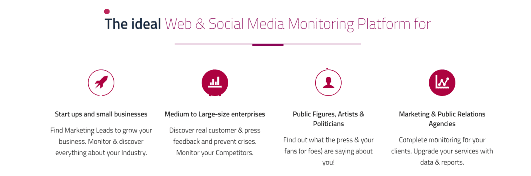 Idea web monitoring- Mentionlytics Review