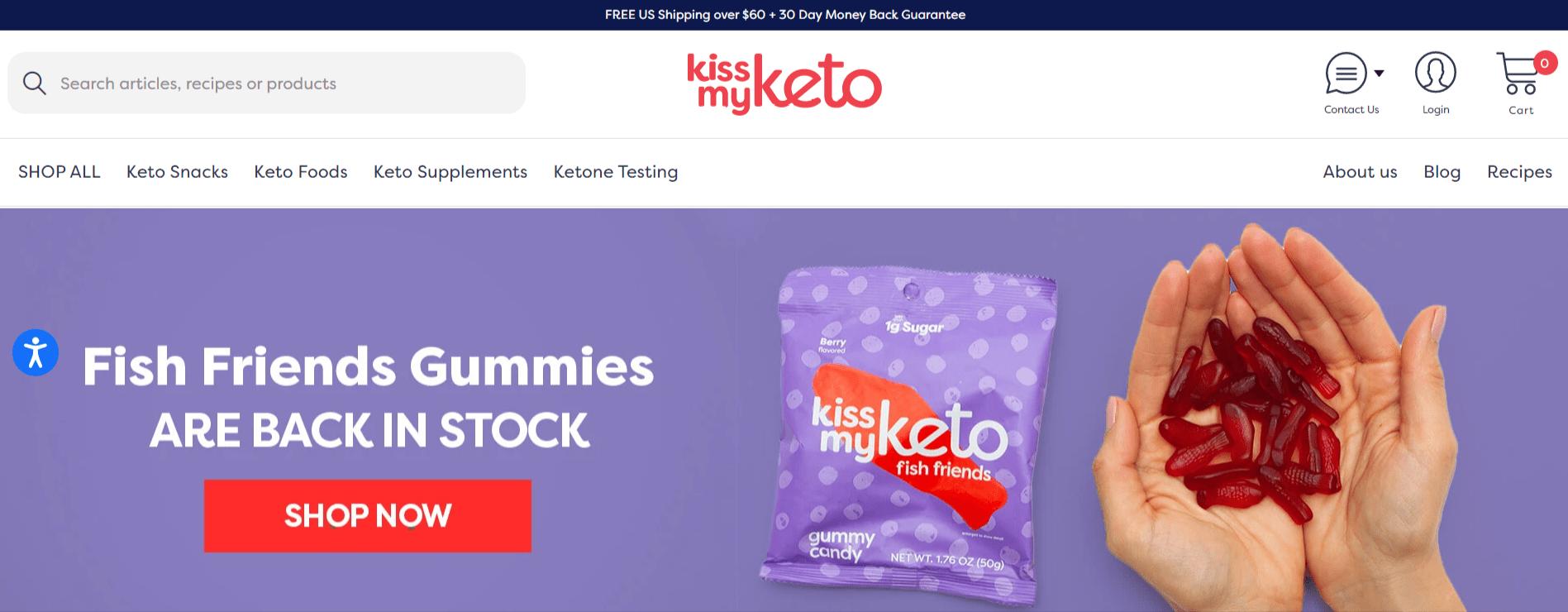 Kissmyketo- Keto Affiliate Programs