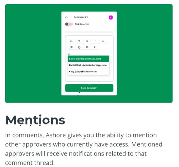 Mentions-Ashore App