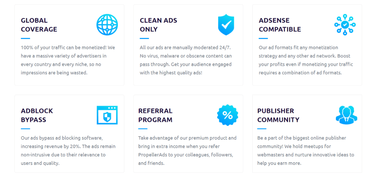 Propellar ads reviews and features