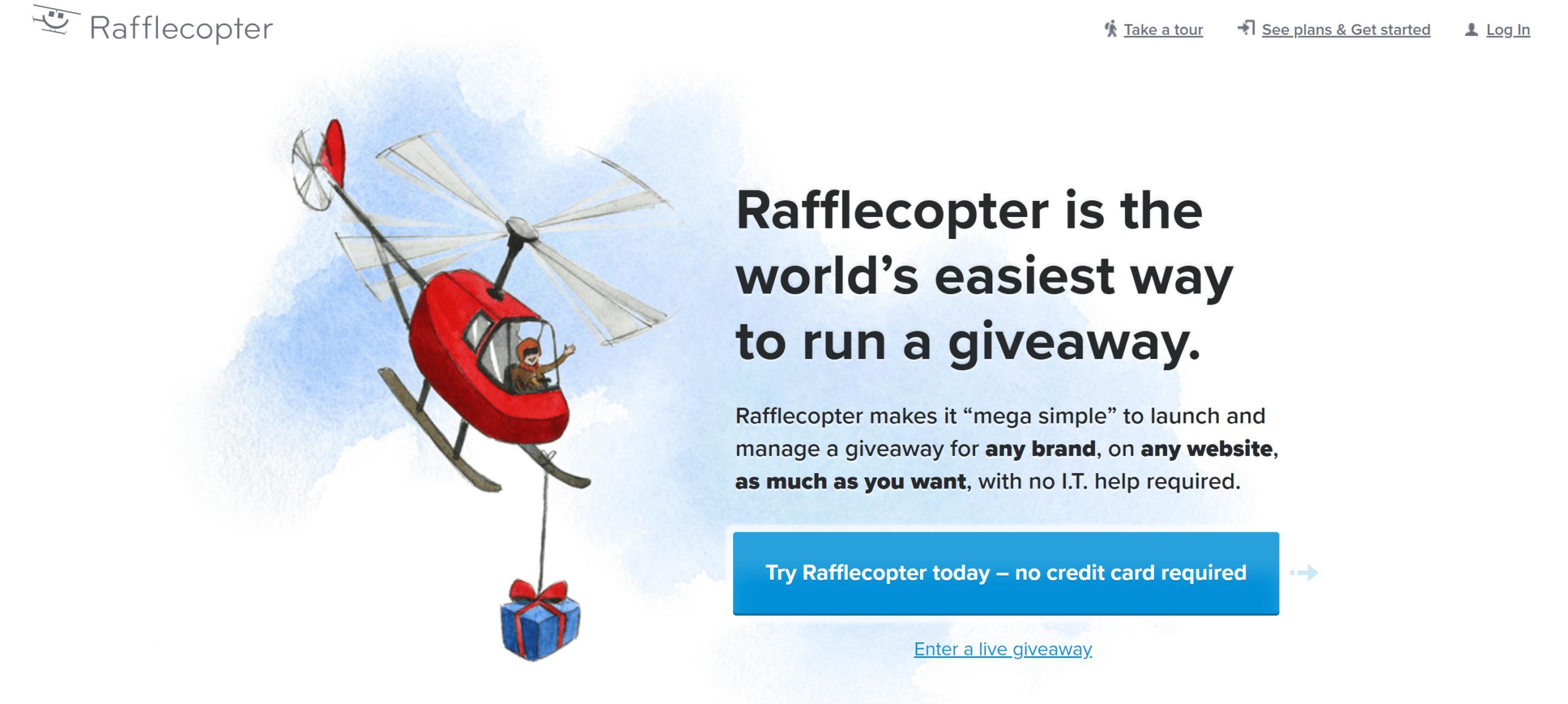 Rafflecopter review