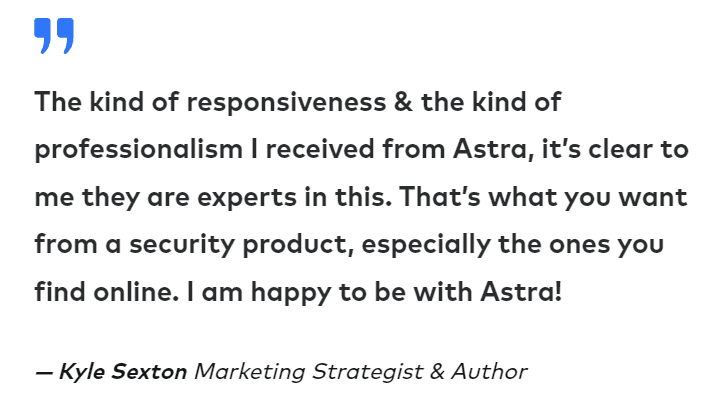 Astra User Review