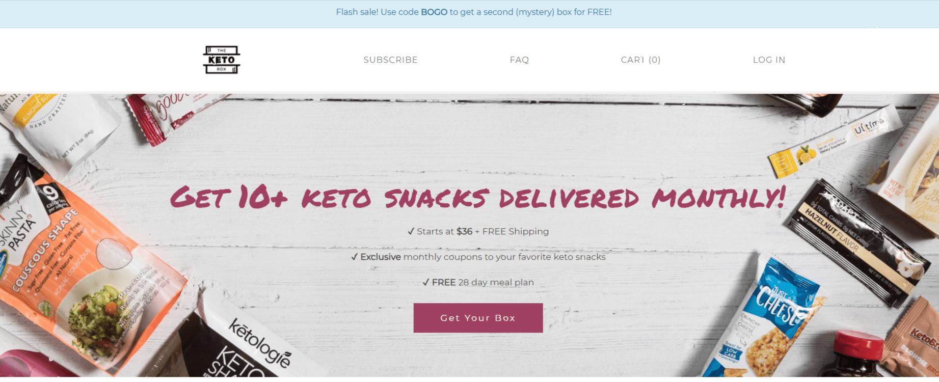The Keto Box- Keto Affiliate Programs