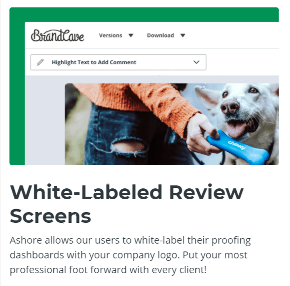 White labeled Review