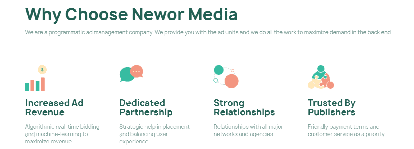 Why chose Newor Media