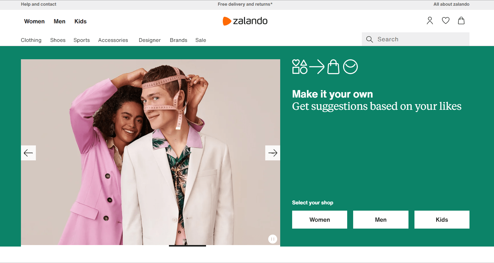 Zalando Overview- Best Online Shopping Sites in Italy