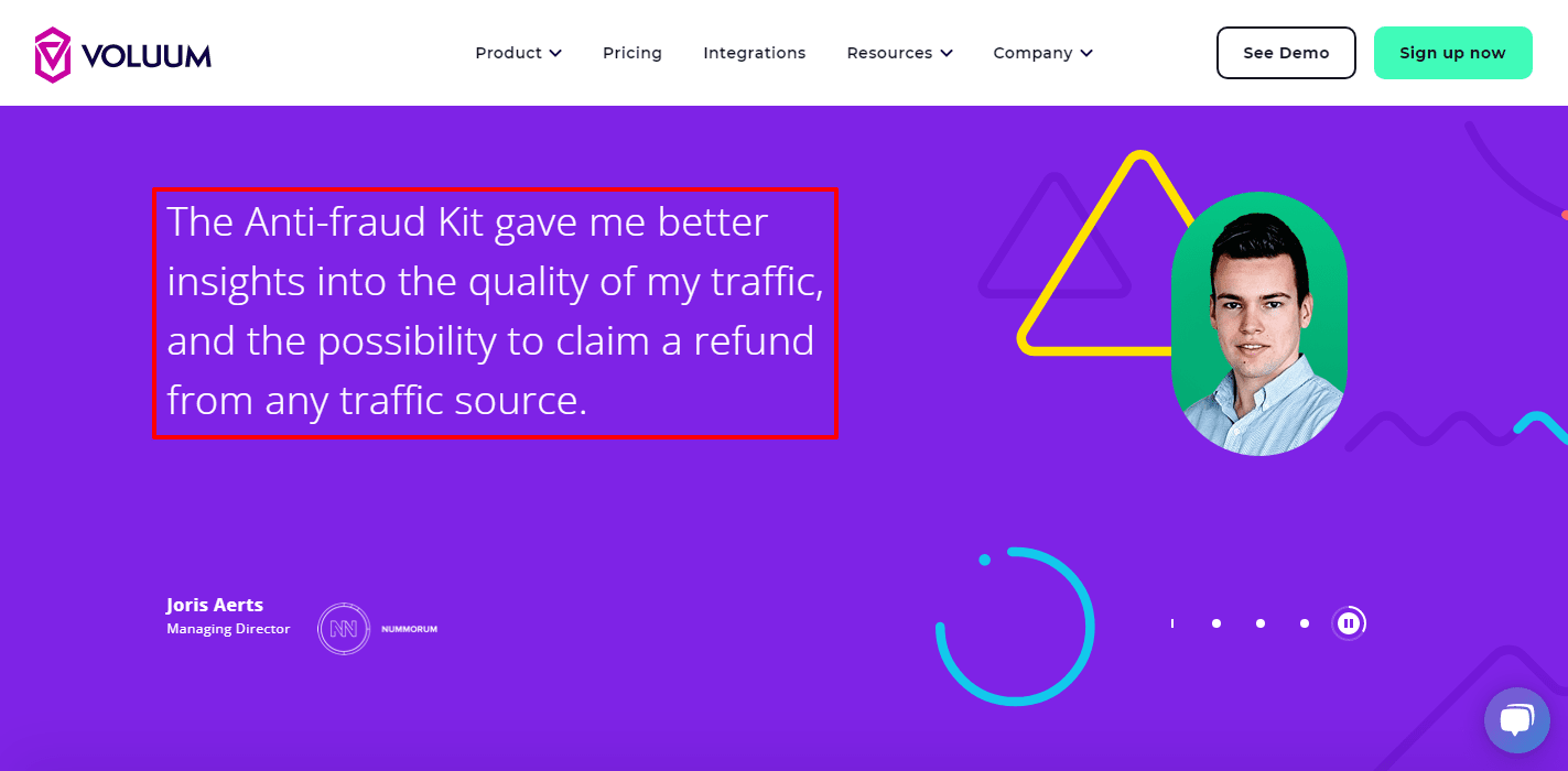 Voluum-Anti-fraud kit gave me better insights