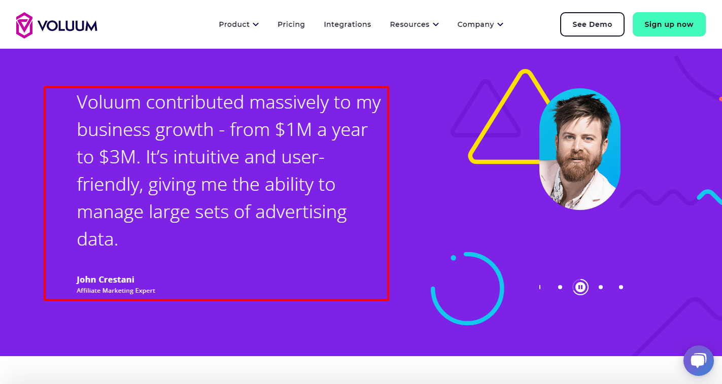 Voluum Contributed Massively to my business growth